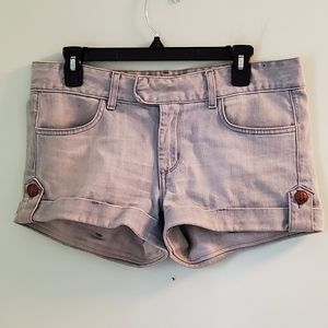 Anlo Mercer Denim Fiji Wash Shorts Style HS7005